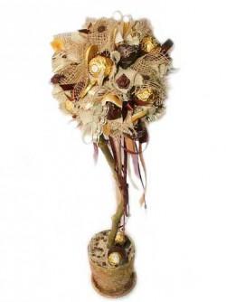 Букет из конфет Дерево сладостей
