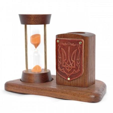 Песочные часы с Тризубом