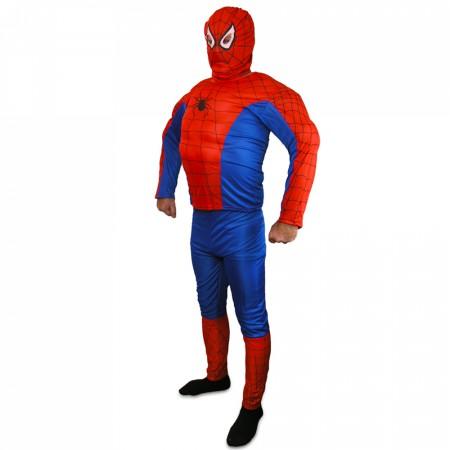 Карнавальный костюм Спайдермен взрослый