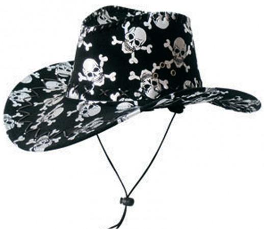 Шляпа с черепами