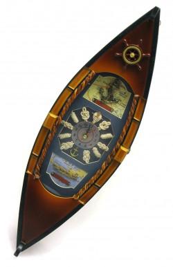 Ключница+часы Корабль