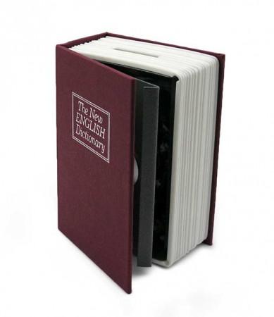 Копилка книга сейф маленькая
