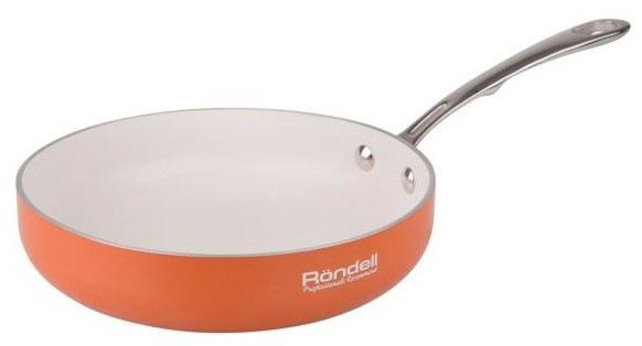 Сковорода б/кр 28 см Rondell Terrakotte RDA-526