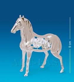 Фигурка Лошадь серебряная