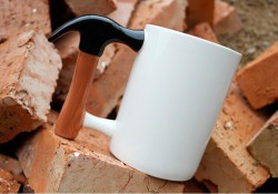 Чашка Молоток большая