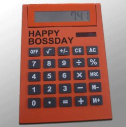 Калькулятор Happy Bossday