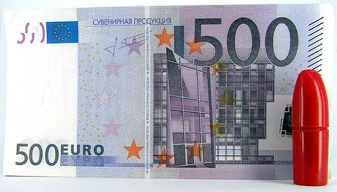 Пачка 500 ЕВРО - гигант