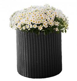 Горшок для цветов Cylinder Planter Small коричневый