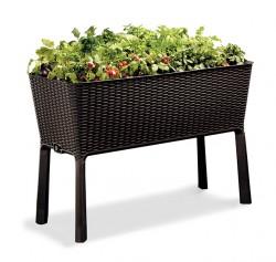 Грядка для растений Easy Grow  коричневая