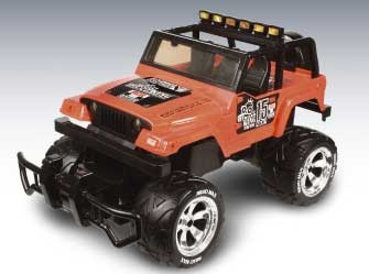 Jeep Rubicon Monster (1:18)