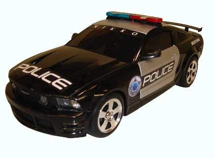 US Police Ford Mustang by 3d Carbon (1:16)