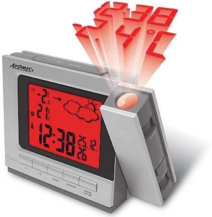 Проекционные часы Atomic W750325