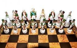 """Шахматные Фигуры - """"Battaglia Di Borodino""""(Medium Size)""""Бородинское Сражение"""""""