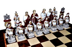Шахматы Римляне и египтяне (extra size)