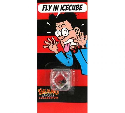 Муха в кубике льда