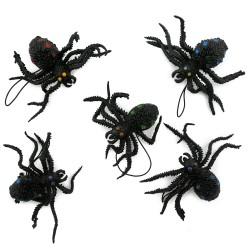 Резиновый паук маленький