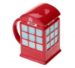 Кружка LONDON - красная телефонная будка