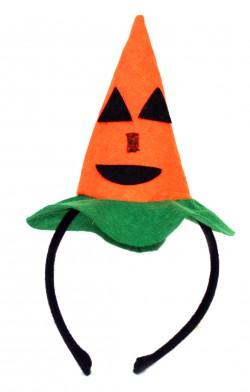 Обруч со шляпкой Тыква