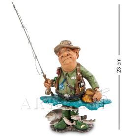 Статуэтка Рыбак На озере