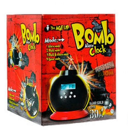 Будильник бомба копилка