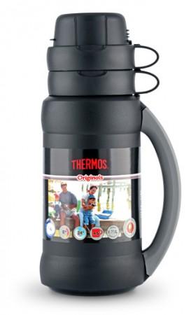 Термос 1,8 л, 34-180 Premier, черный