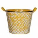 Горшок для цветов Jano золотистый