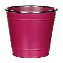 Горшок для цветов розовый
