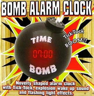 "Будильник ""бомба"""