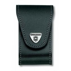 4.0521.32 Чехол Victorinox поясной черный кожаный