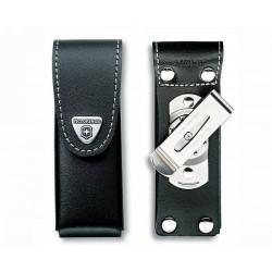 4.0523.31 Чехол поясной Victorinox черный кожаный