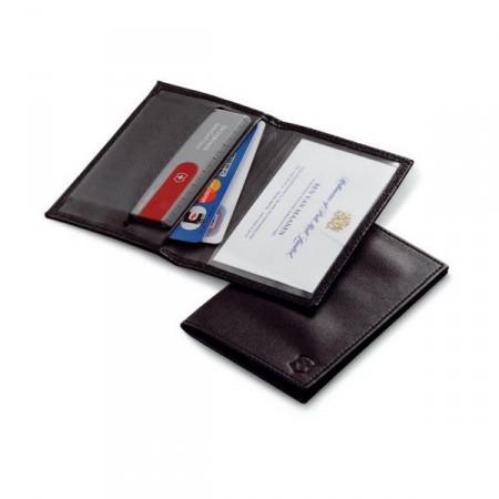 4.0873.L Чехол Victorinox для SwissCard, кожа, черный