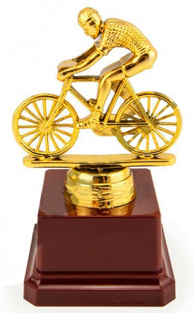 Статуэтка Велосипедист