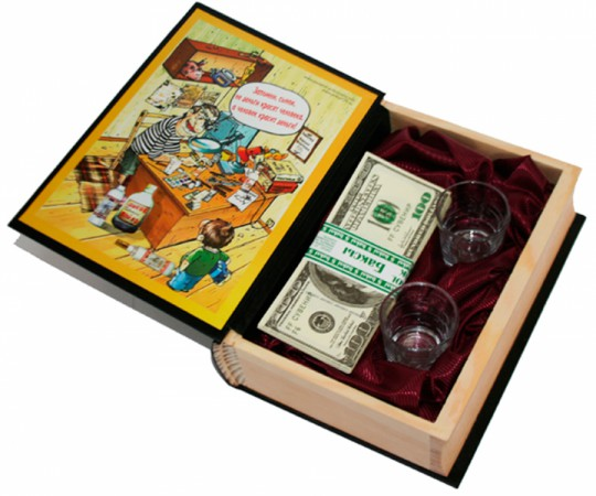Книга шкатулка Деньги как стать богатым