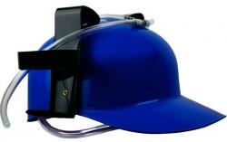 Пивной шлем синий
