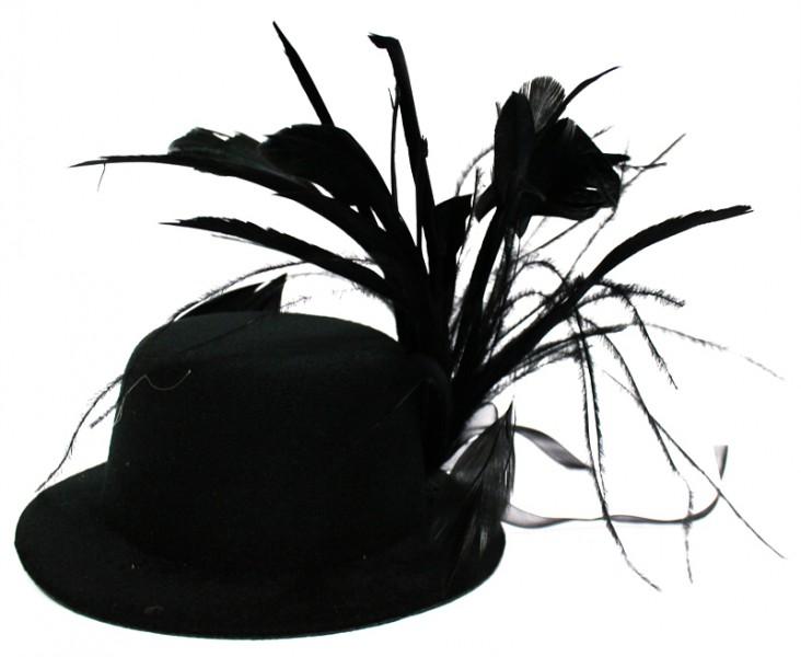 Шляпка Гламур большая