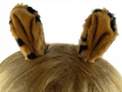 Заколки ушки Оленёнка тигровые