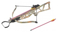 Арбалет Man Kung MK-120TCR, камуфляж, 2 стрелы