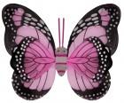 Крылья Бабочки пятнистые розовые