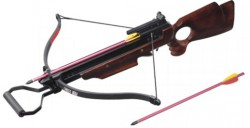 Арбалет Man Kung MK-150A3WR, 40lbs, 2 стрелы, дерево
