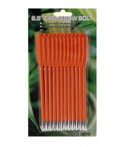 Стрелы для арбалета Man Kung MK-PL-O, оранжевые, 12 шт