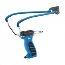 Рогатка с магазином для шариков Man Kung MK-SL08 BL, синяя