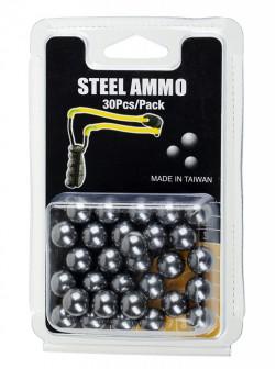 Шарики для рогатки из металла MK-TA, 30шт/упаковка