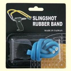 Резинка для рогатки Man Kung MK-TR-BL, синяя