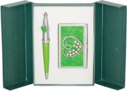 Подарочный набор Crystal Heart зеленый