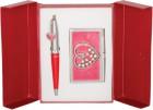 Подарочный набор Crystal Heart красный