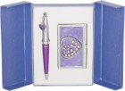 Подарочный набор Crystal Heart фиолетовый