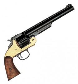 Револьвер «Смит&Вессон» 6-зарядный, 1869 г., латунь