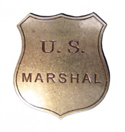 Значок U.S.Marshal