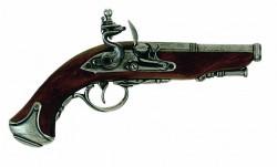 Пистолет бельгийский, XVIII век, сталь