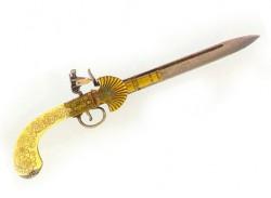 Пистолет-нож, Англия, XIX век
